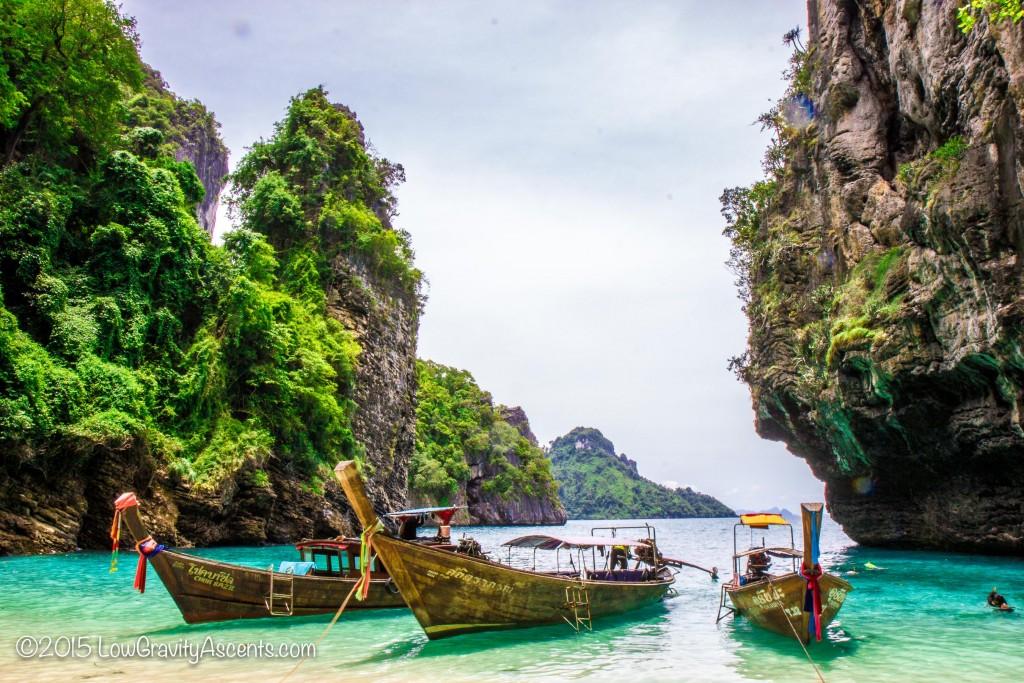 Thailand Long tail Island