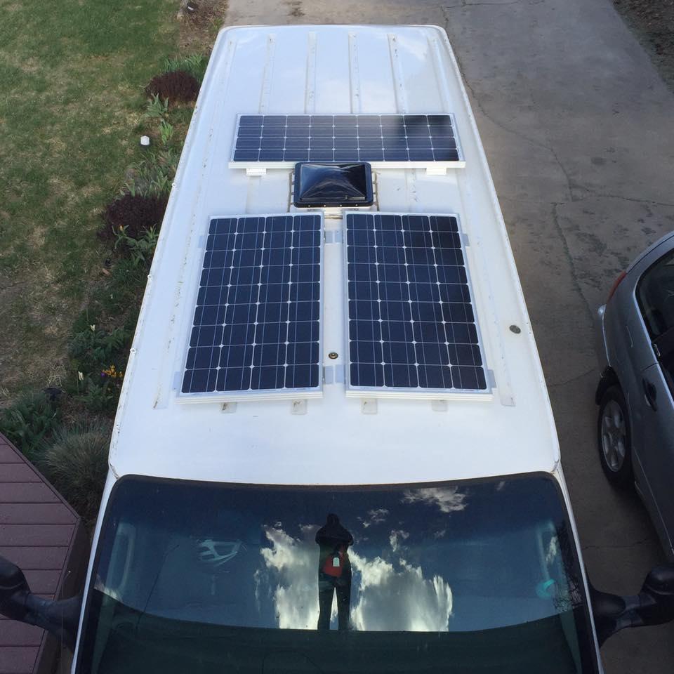 How To Install Renogy Solar Panels On Your Van David Sandel